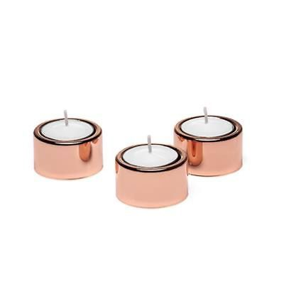COPPER HALO VOTIVE CANDLES