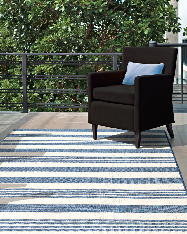 ROBAN STRIPE BLUE RUGS