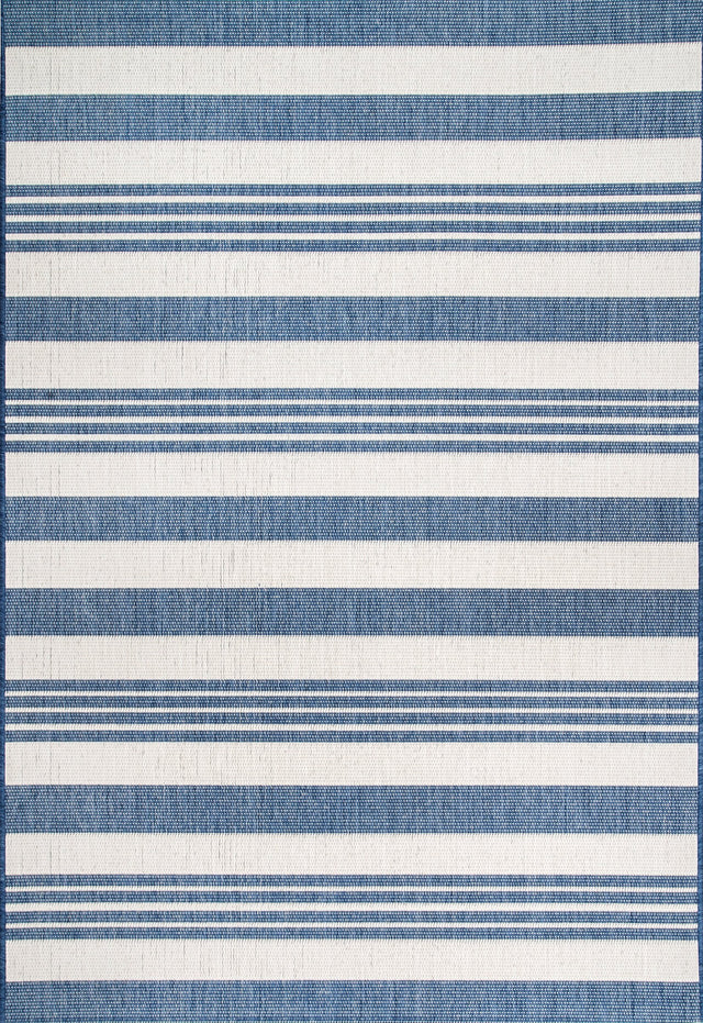 ROBAN STRIPE BLUE RUGS ( 4 ) | RUGS