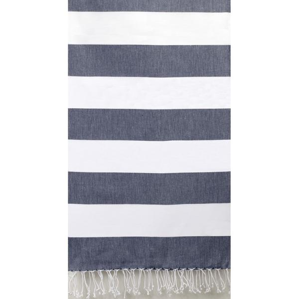 COTTON PESTEMAL WIDE STRIPE HAMAM TOWELS