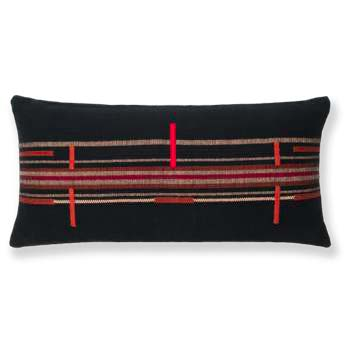 SEMA COTTON PILLOW - NAGA BLACK