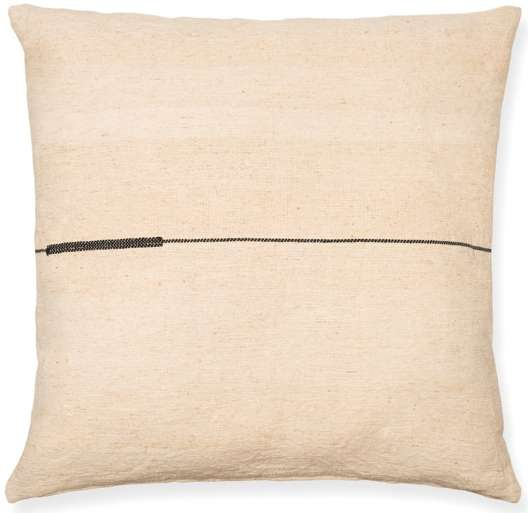 SEMA NETTLE PILLOW - BLACK LINE