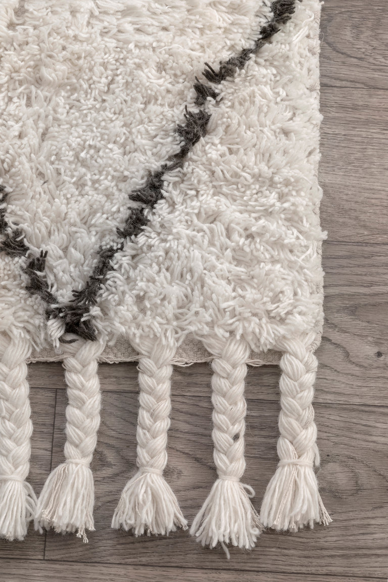 FEZ HAND KNOTTED SHAG ( 2 ) | RUGS