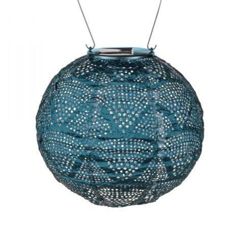 SOLAR GLOBE WAVE PUNCH LANTERNS