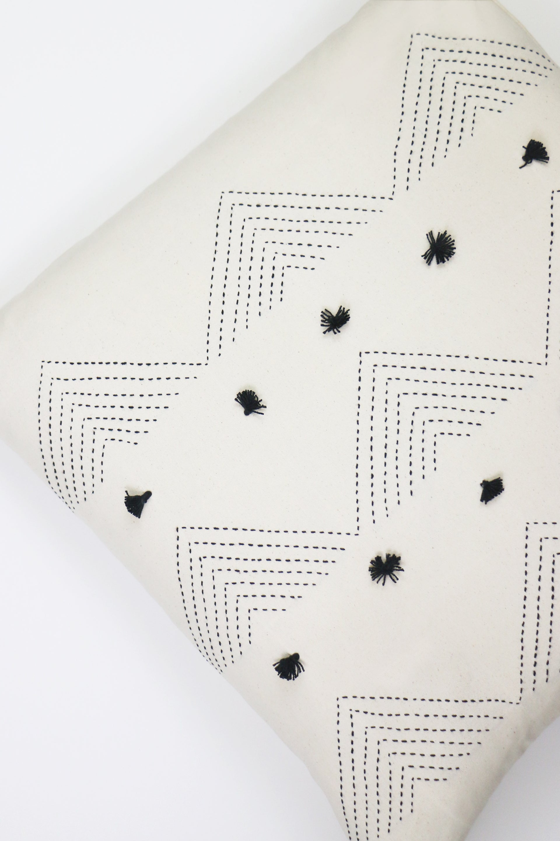 BONE HILLSCAPE THROW PILLOW