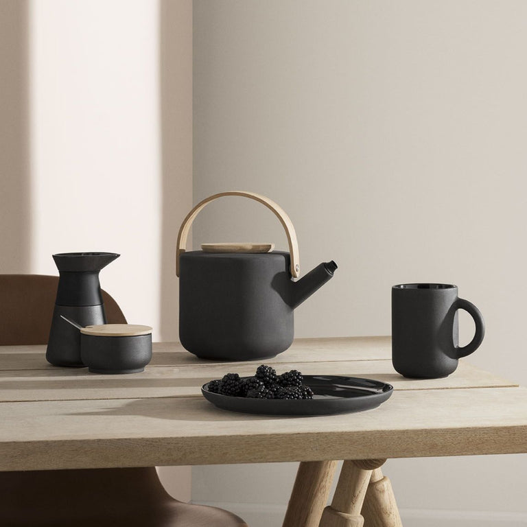 BLACK DANISH THEO MILK JUG