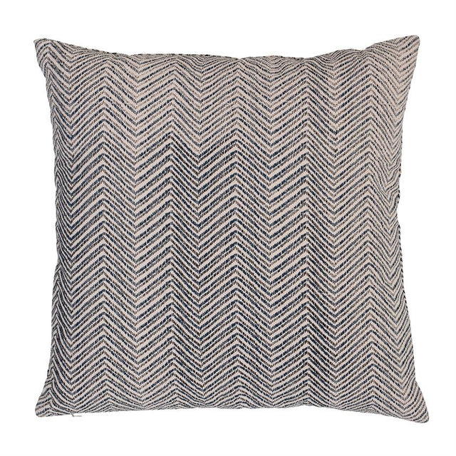 GREY HERRINGBONE PILLOW