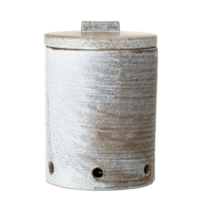 GREY REACTIVE GLAZE STONEWARE KEEPERS