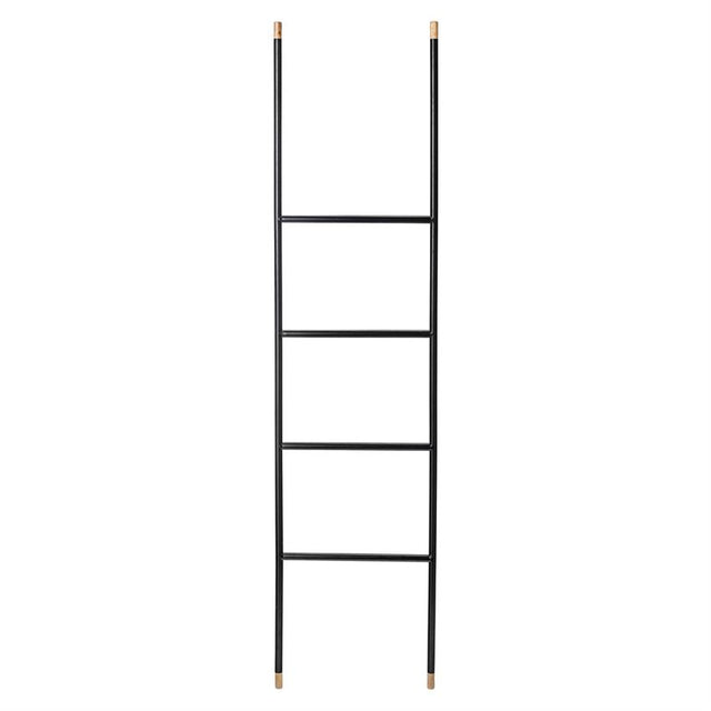 BLACK BLANKET LADDER 65""