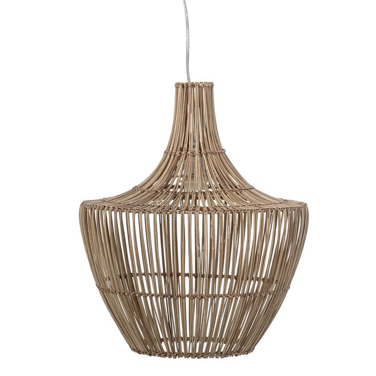 WICKER BELL PENDANT