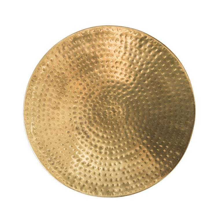BRASS HAMMERED DRUM