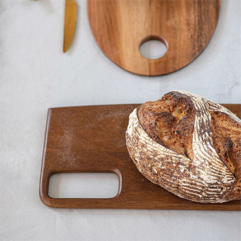 MANGO WOOD GEO CUTTING BOARD | ENTERTAINING