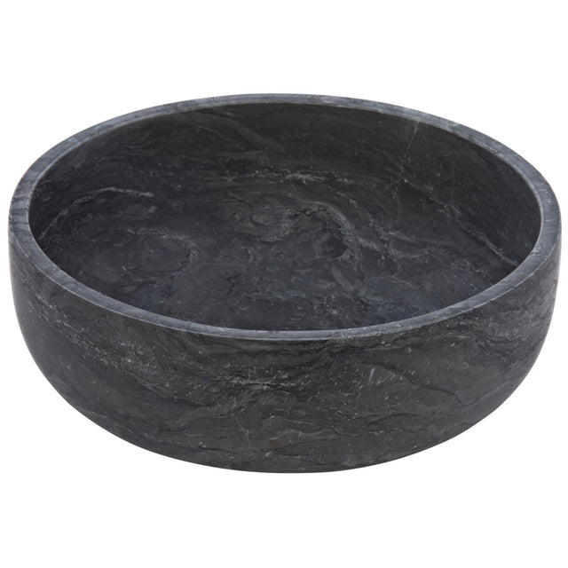 GREY MARBLE HUHU BOWL