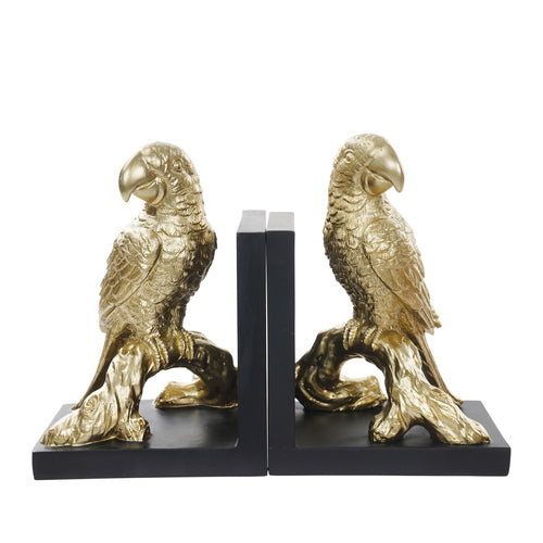 PARROT BOOKENDS