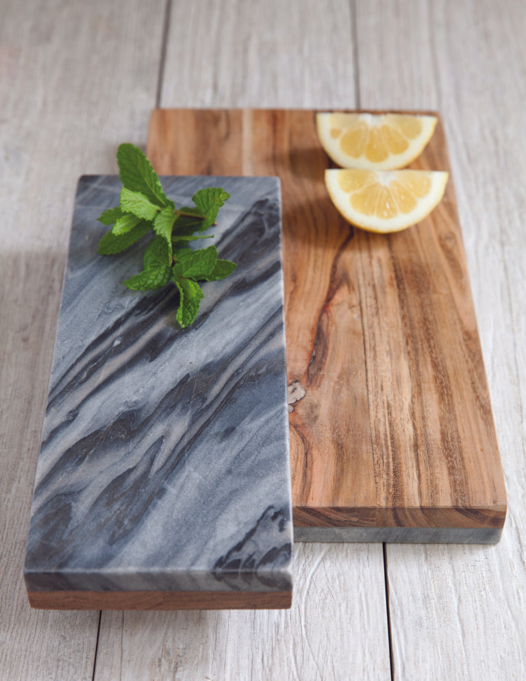 MARBLE & MANGO SERVING BOARDS
