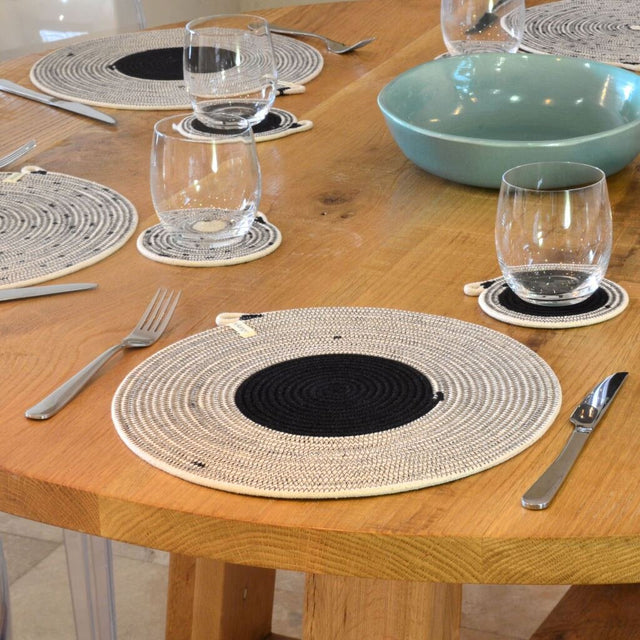 LIQUORICE COTTON PLACEMAT (SOUTH AFRICA)