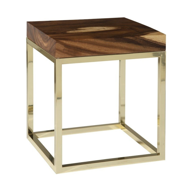 CHAMCHA WOOD END TABLE TABLE