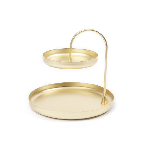 POISE TWO TIERED TRAY | STORAGE | STAG & MANOR