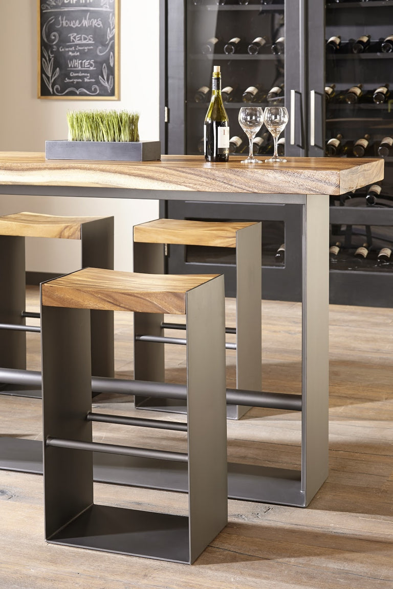 IRON FRAME BAR STOOL CHAIR