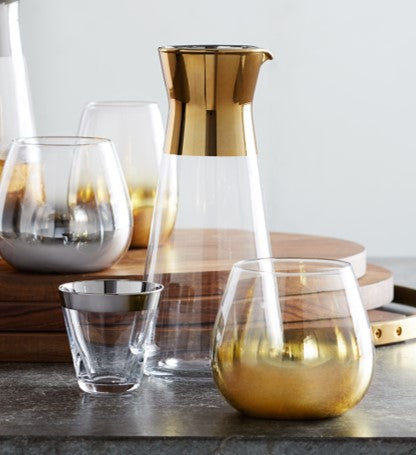 GOLD BAND CARAFE