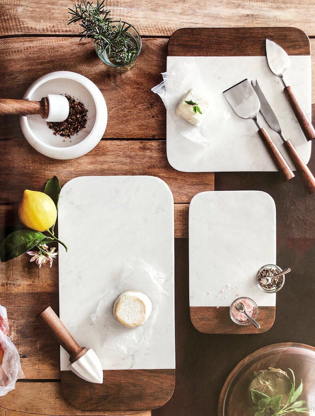 ALDO MARBLE CHEESE BOARDS | DINING & ENTERTAINING