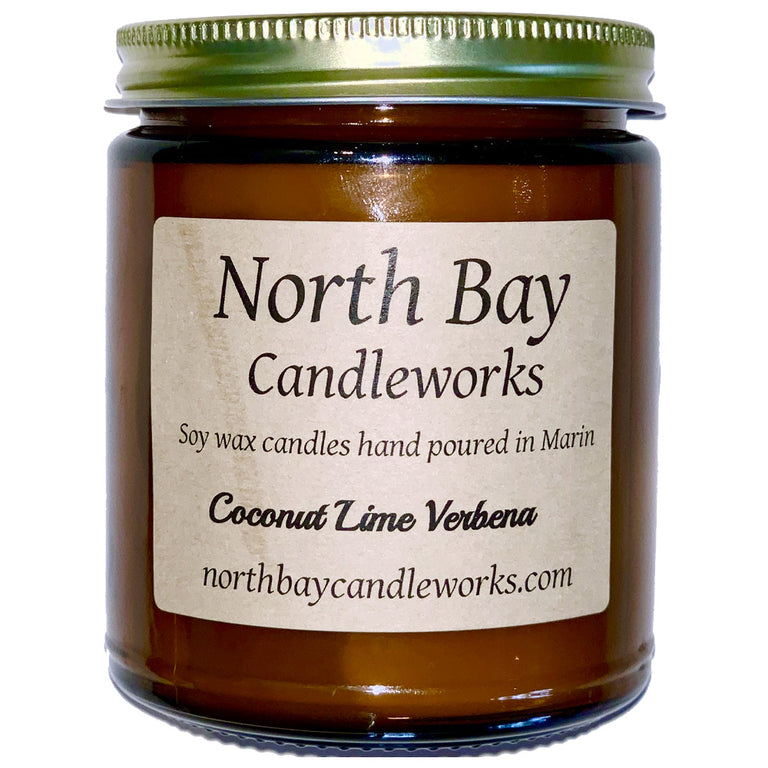COCONUT LIME VERBANA CANDLE | FRAGRANCE