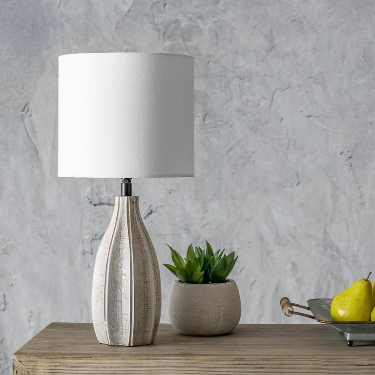 WOOD TABLE LAMP - 20 (INDIA)
