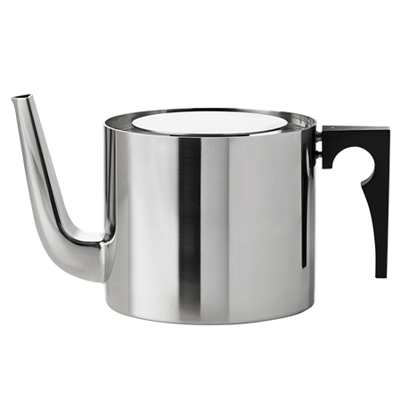 STEEL DANISH TEAPOT