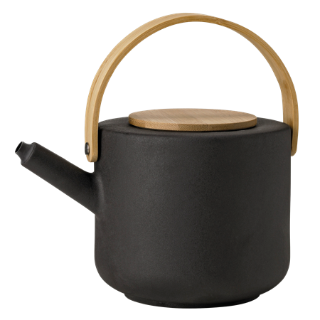 BLACK DANISH THEO TEAPOT