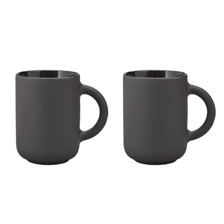 BLACK DANISH MUG SET