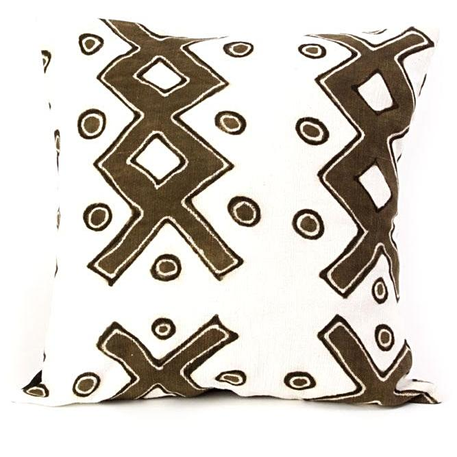 LADDER PRINT PILLOW FROM MALI