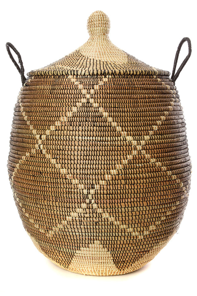 "BLACK DIAMONDS BASKET 30"" (FROM SENEGAL)"