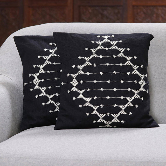 STARLIT GALAXY THROW PILLOW (INDIA)