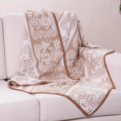 PARACAS COAST THROW (FROM PERU)