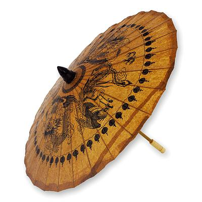 DRAGONS & PHOENIXES PARASOL (THAILAND) | OBJECTS