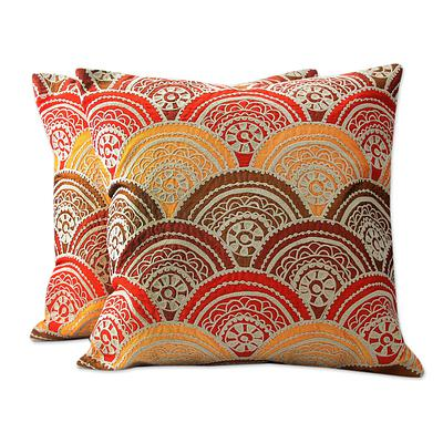 SUNRISE THROW PILLOW (INDIA)