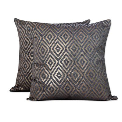 DIAMOND GLAM THROW PILLOW (FROM INDIA)