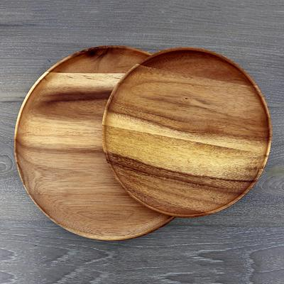 THAI WOOD PLATES (FROM THAILAND)