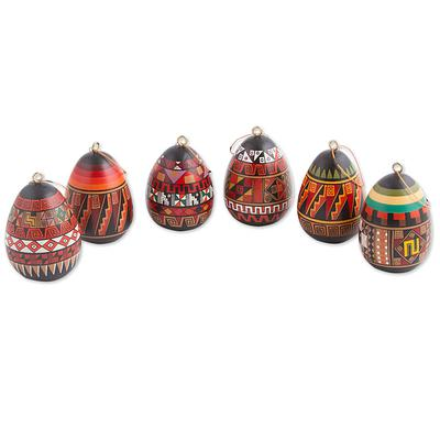 INCA EGG ORNAMENT (FROM PERU)