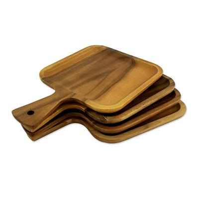 THAI WOOD PLATTER (FROM THAILAND)