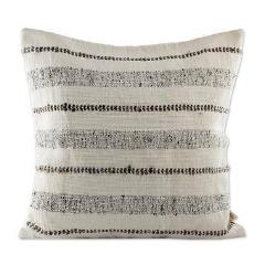 CLAY STRIPED COMFORT THROW PILLOW (FROM GUATEMALA)