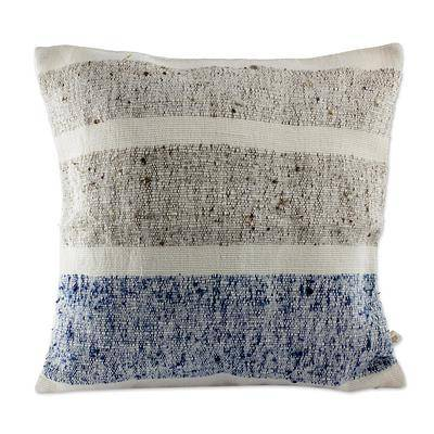 WOOL SHORELINES THROW PILLOW (FROM GUATEMALA)