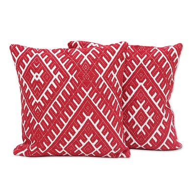 DIAMOND FIRE THROW PILLOW (INDIA)