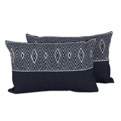 JEAN DIAMOND THROW PILLOW (FROM INDIA)