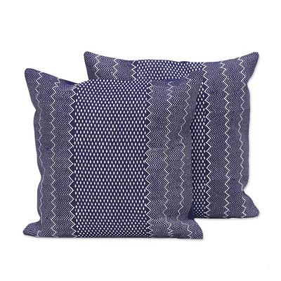 JEAN VIBES THROW PILLOW (FROM INDIA)