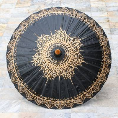 BLACK SUN PARASOL (FROM THAILAND)
