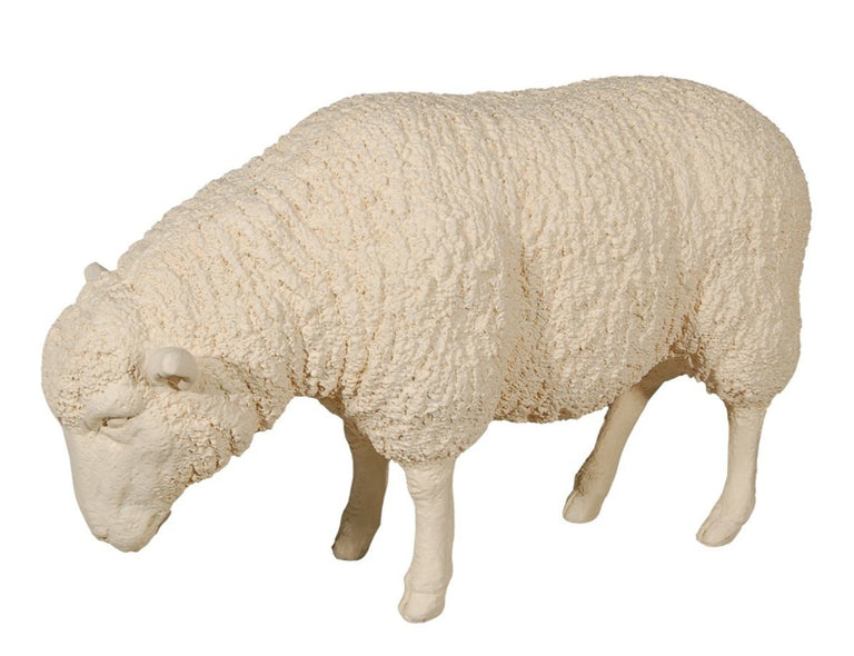 "STANDING SHEEP 38"" FIGURINE"