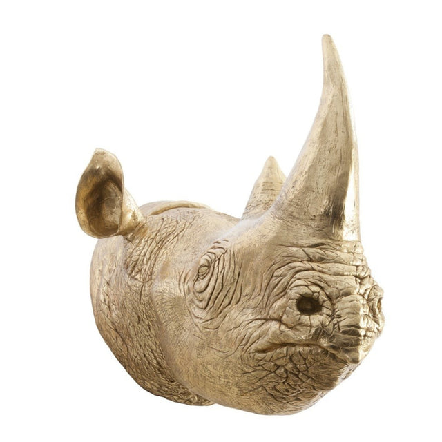 RHINO BUST WALL DECOR