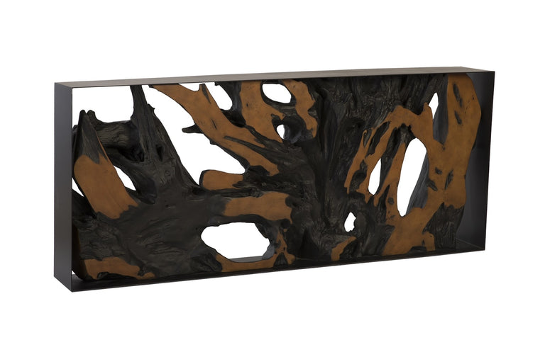 CAST ROOT CONSOLE TABLE