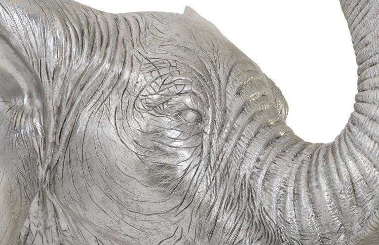 "ELEPHANT BUST 41"" WALL DECOR"
